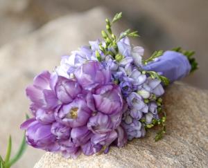 bukiet fioletowy